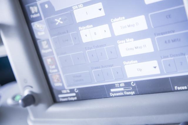 ultrasound screen